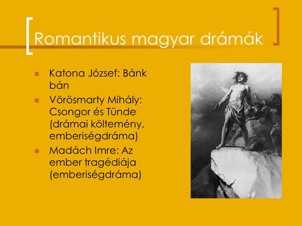 Romantikus magyar drámák