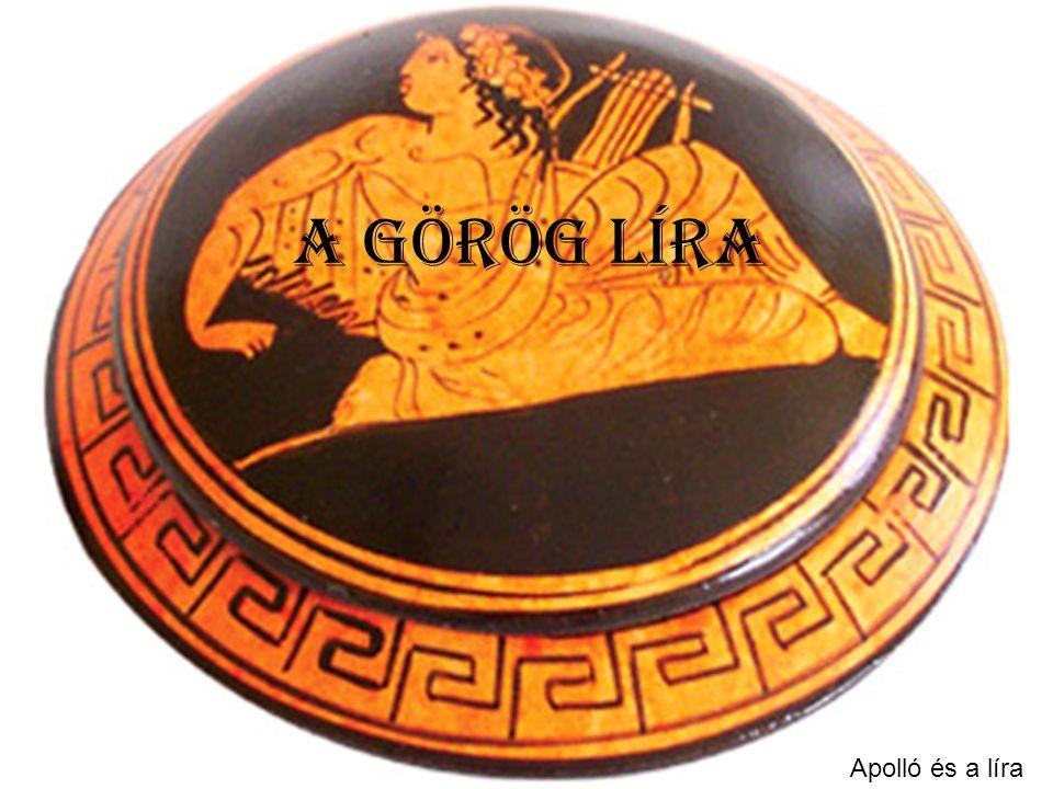 A görög líra Apolló és a líra