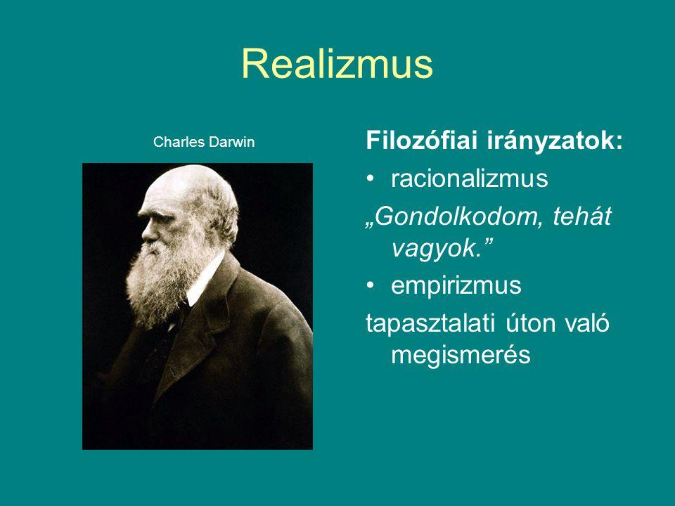 Realizmus Filozófiai irányzatok: racionalizmus