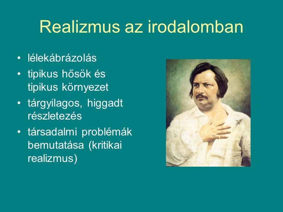 Realizmus az irodalomban