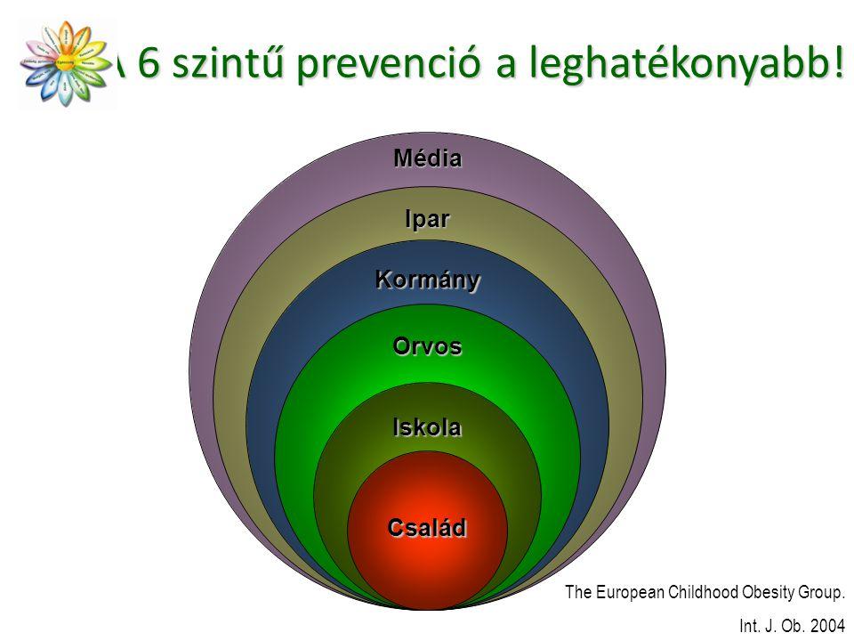 A 6 szintű prevenció a leghatékonyabb!