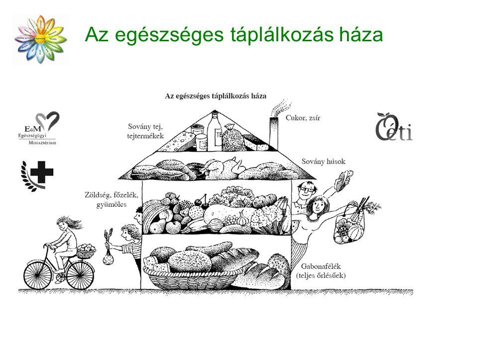 Az egészséges táplálkozás háza