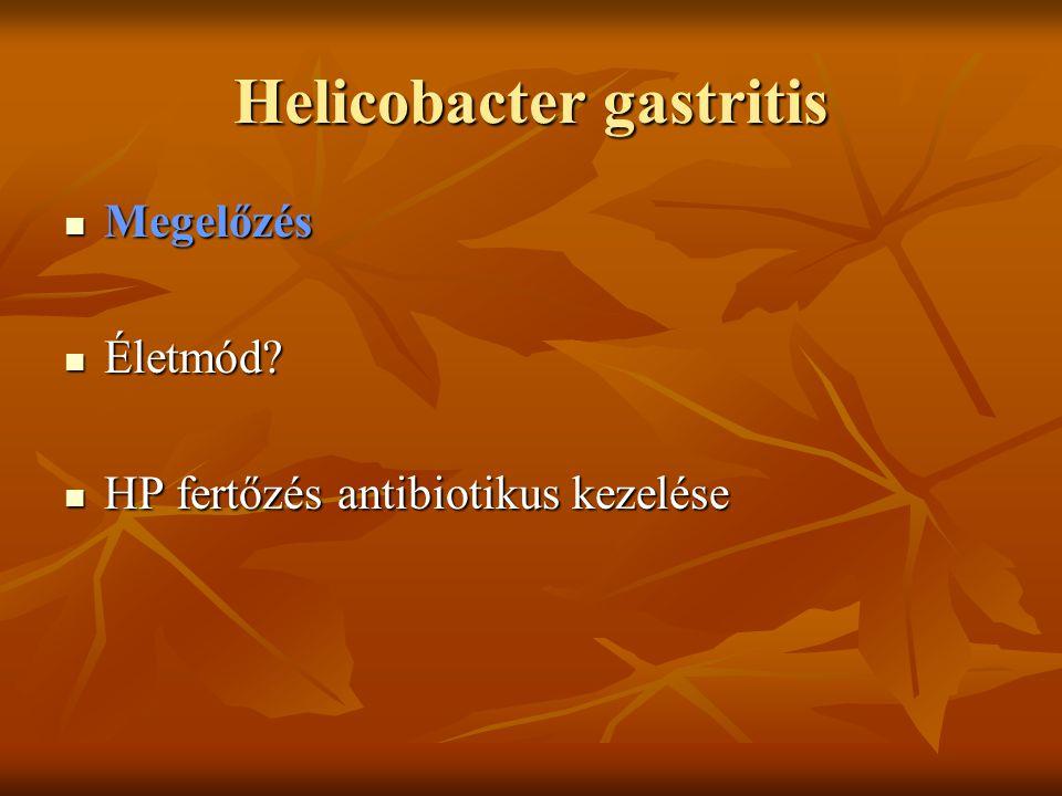 Helicobacter gastritis