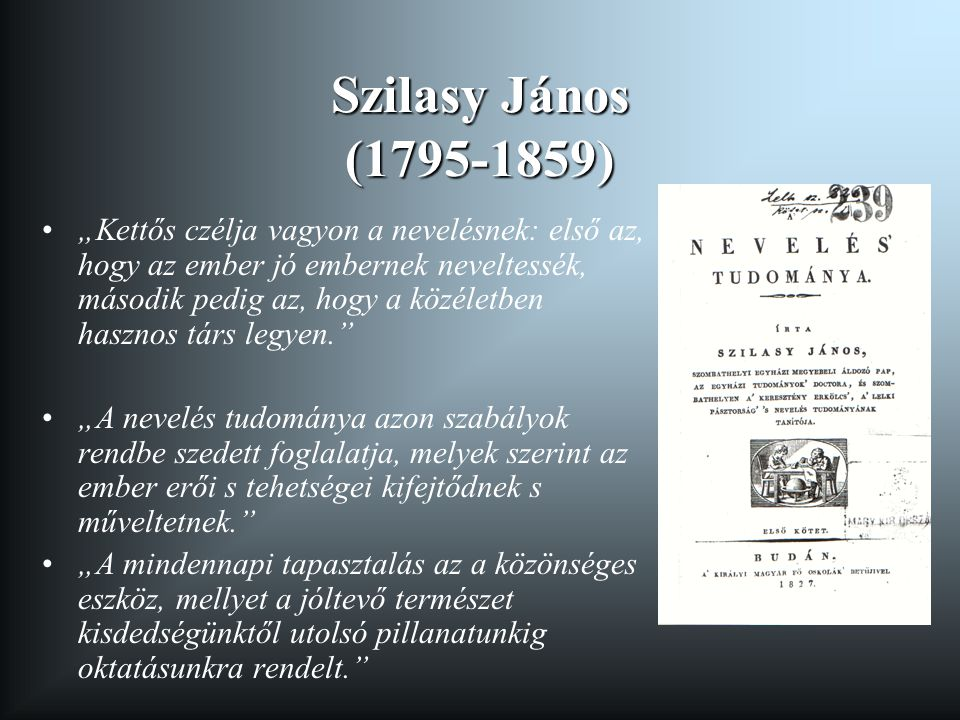Szilasy János (1795-1859)