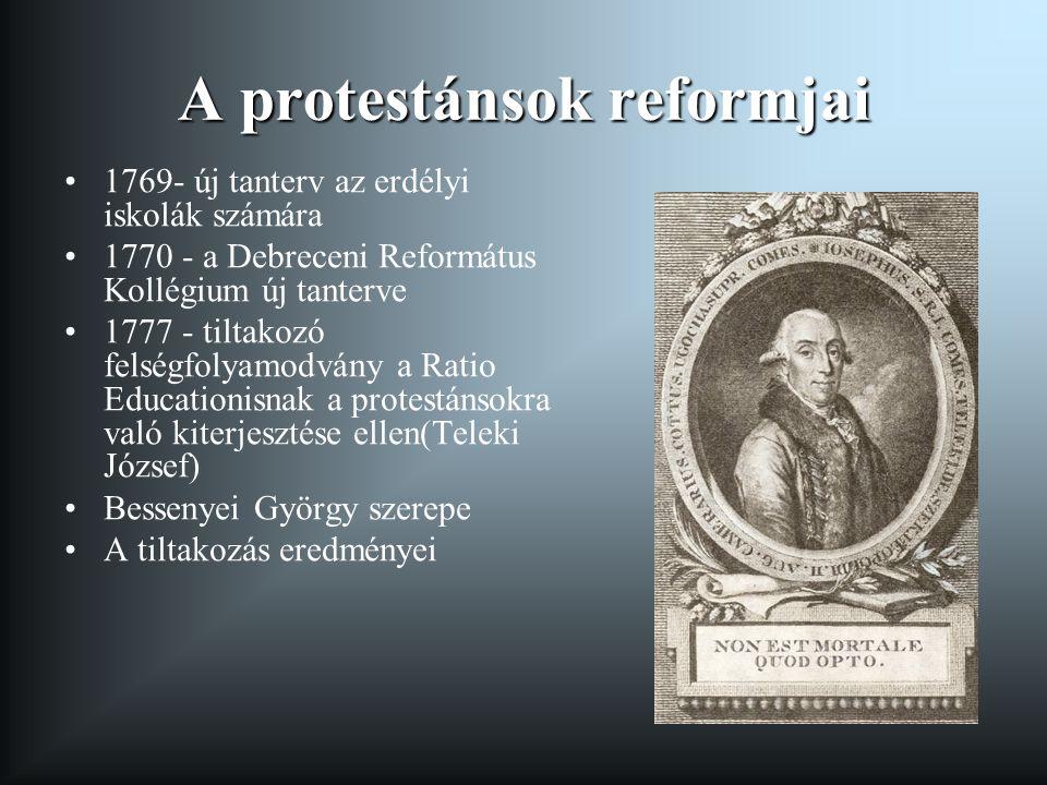 A protestánsok reformjai