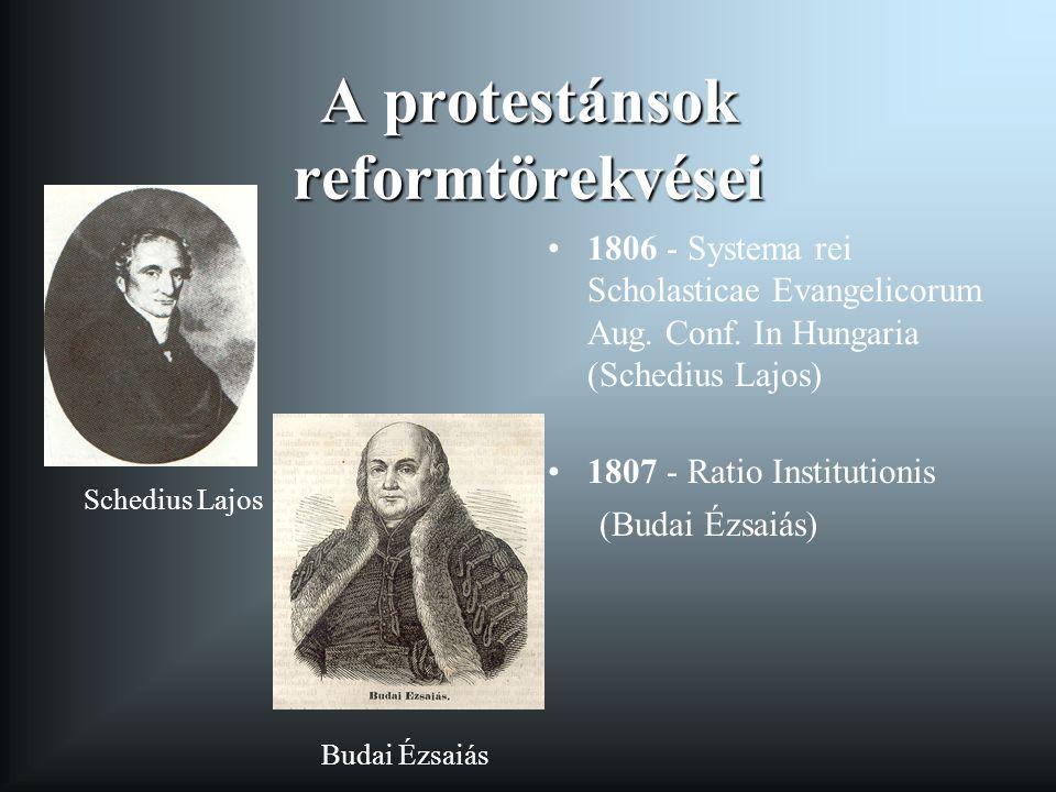 A protestánsok reformtörekvései