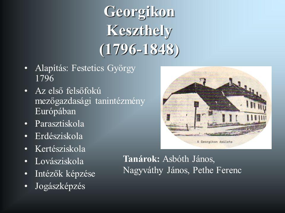 Georgikon Keszthely (1796-1848)