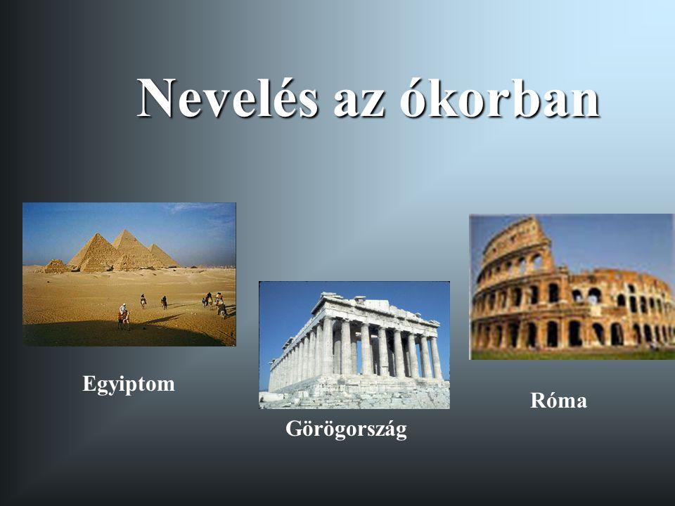 Nevelés az ókorban Egyiptom Róma Görögország
