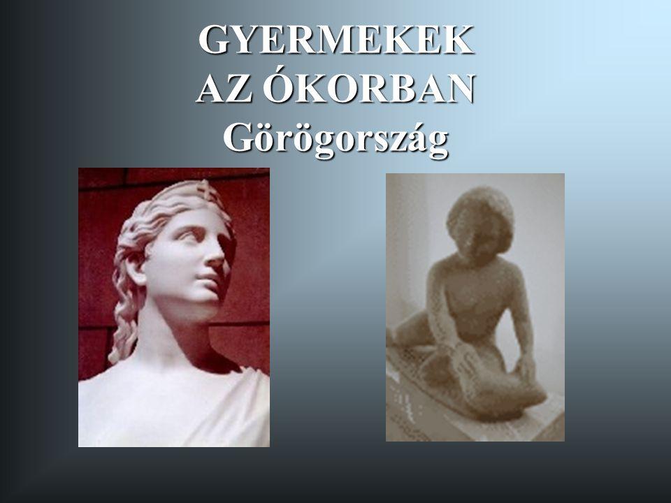 GYERMEKEK AZ ÓKORBAN Görögország