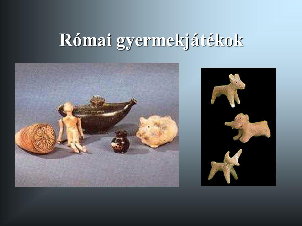 Római gyermekjátékok