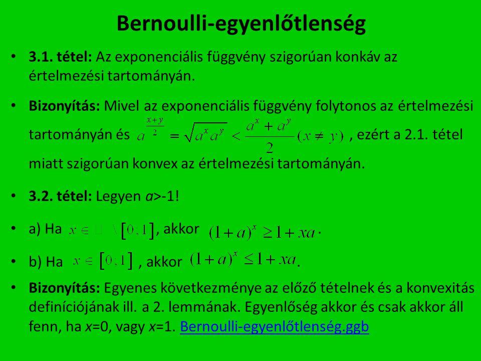 Bernoulli-egyenlőtlenség