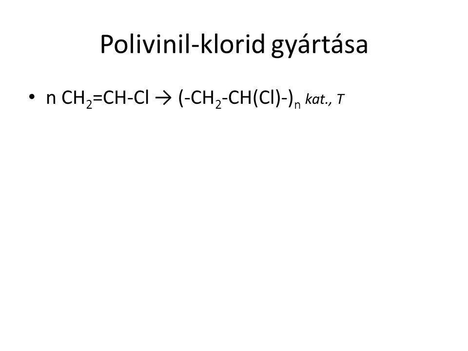 Polivinil-klorid gyártása