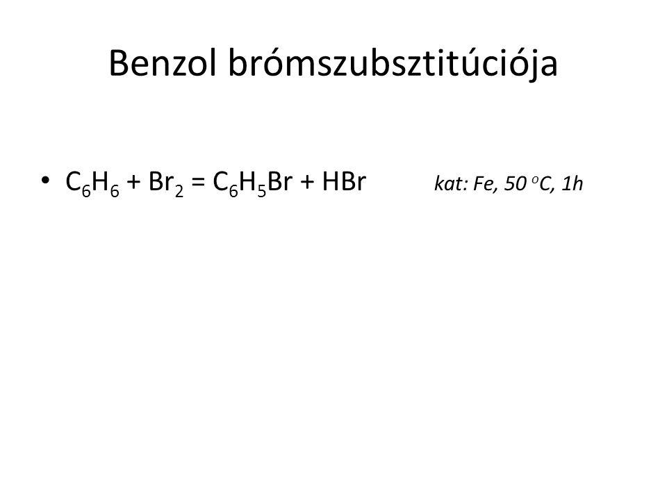 Benzol brómszubsztitúciója