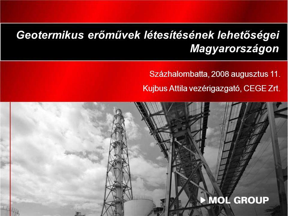 Geotermikus erőművek létesítésének lehetőségei Magyarországon