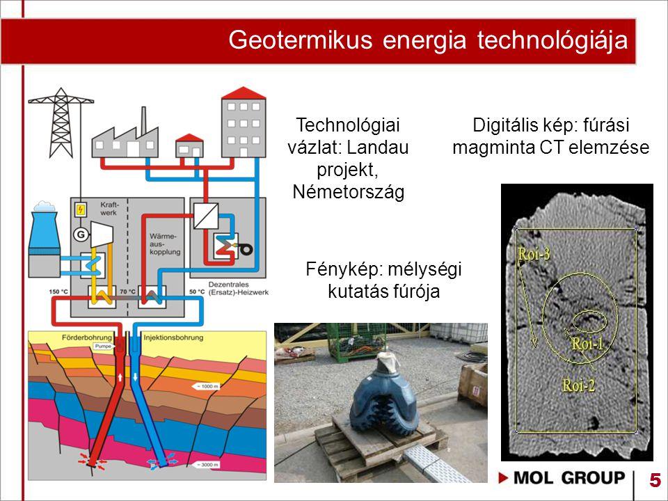 Geotermikus energia technológiája