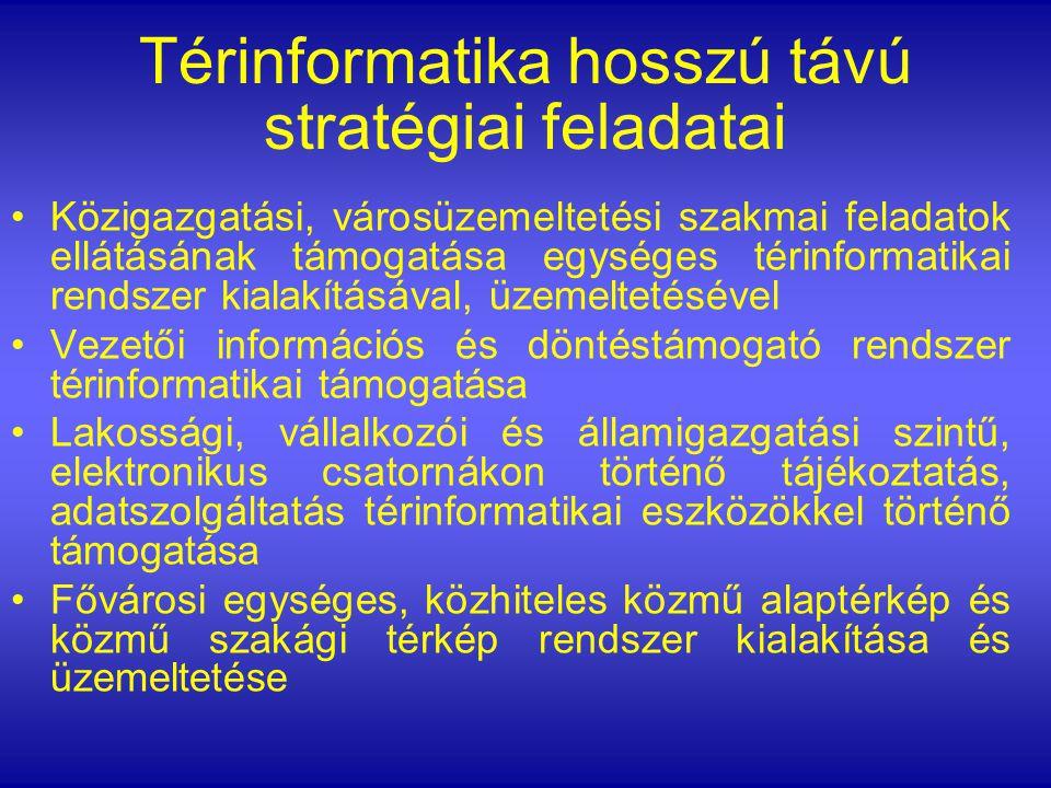 Térinformatika hosszú távú stratégiai feladatai