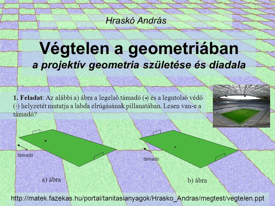 Végtelen a geometriában a projektív geometria születése és diadala