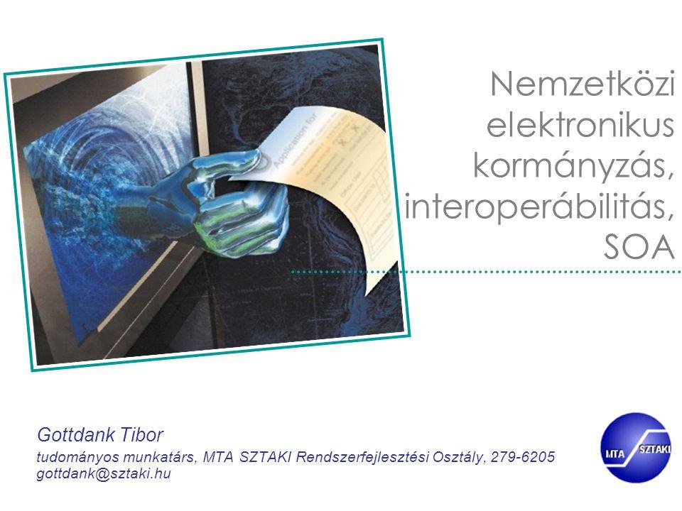 Nemzetközi elektronikus kormányzás, interoperábilitás, SOA
