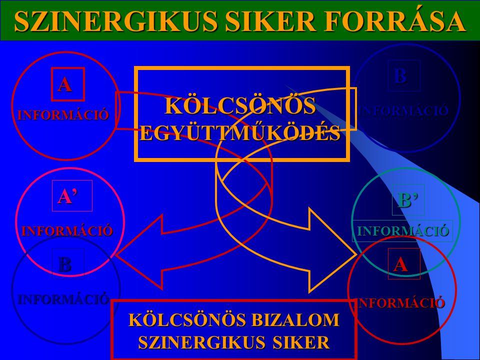 SZINERGIKUS SIKER FORRÁSA