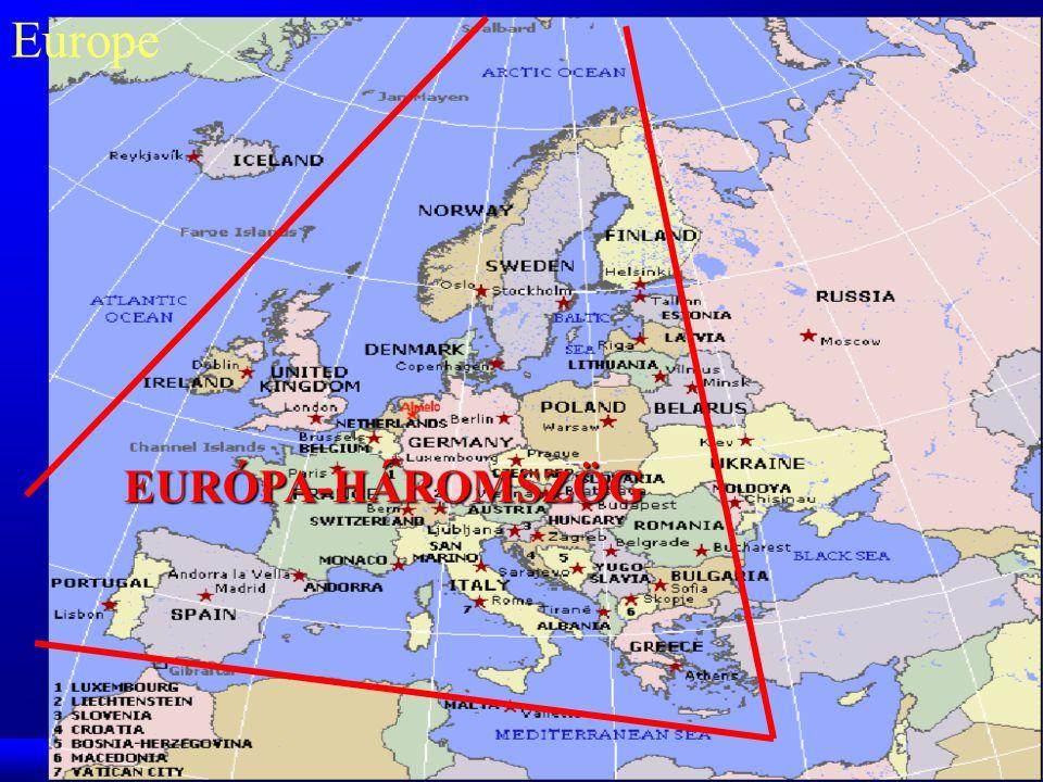 Europe EURÓPA-HÁROMSZÖG GTK PP