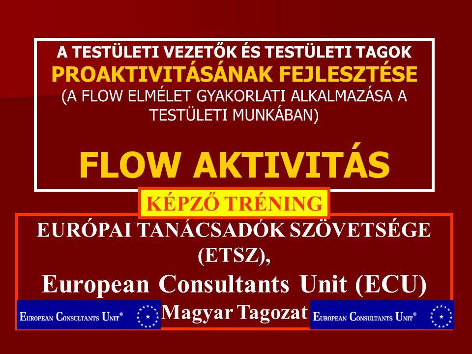 EURÓPAI TANÁCSADÓK SZÖVETSÉGE (ETSZ), European Consultants Unit (ECU)