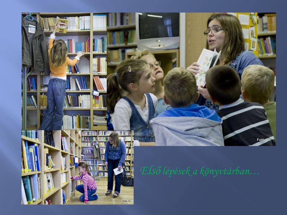 Első lépések a könyvtárban…