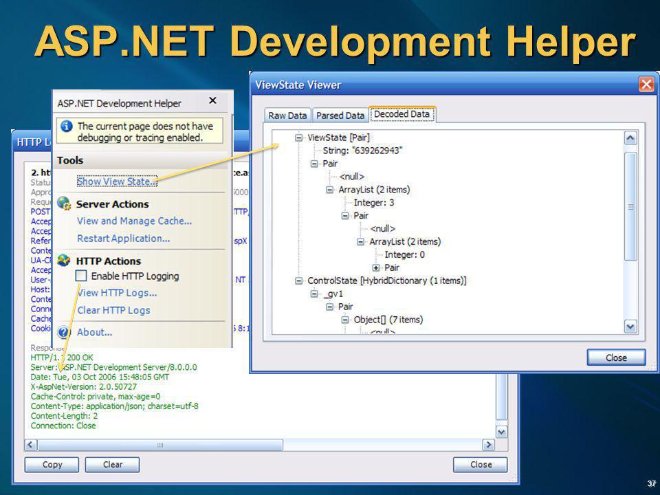 ASP.NET Development Helper