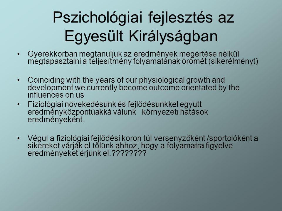 Pszichológiai fejlesztés az Egyesült Királyságban