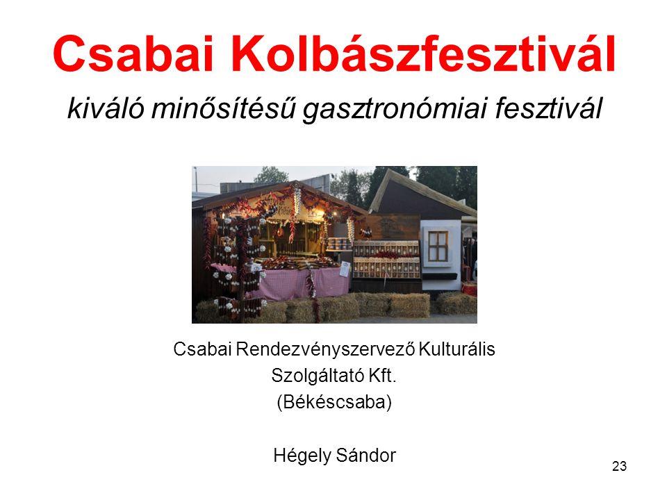 Csabai Kolbászfesztivál