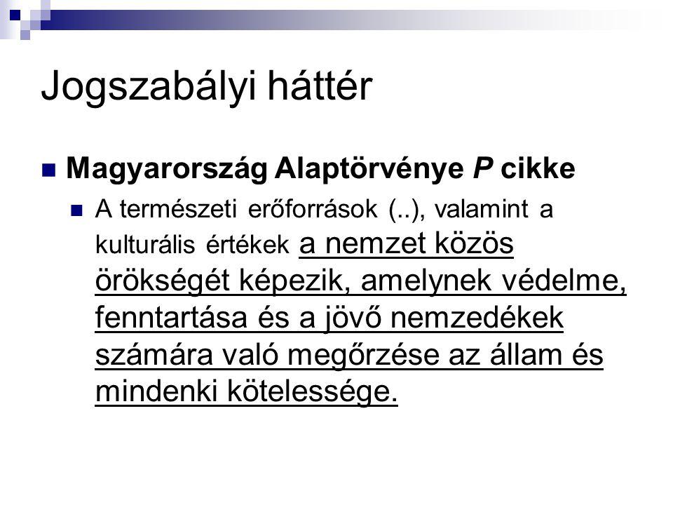 Jogszabályi háttér Magyarország Alaptörvénye P cikke