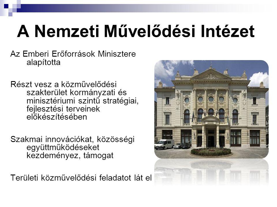 A Nemzeti Művelődési Intézet