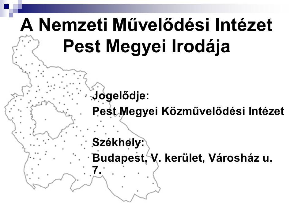 A Nemzeti Művelődési Intézet Pest Megyei Irodája