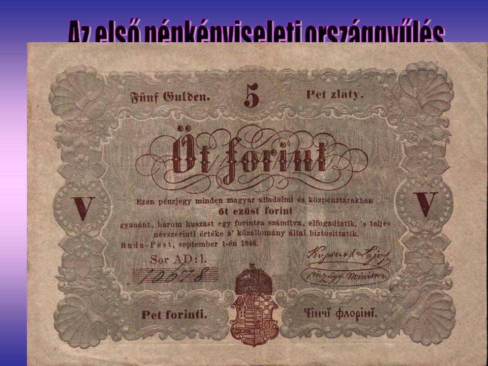 Az első népképviseleti országgyűlés
