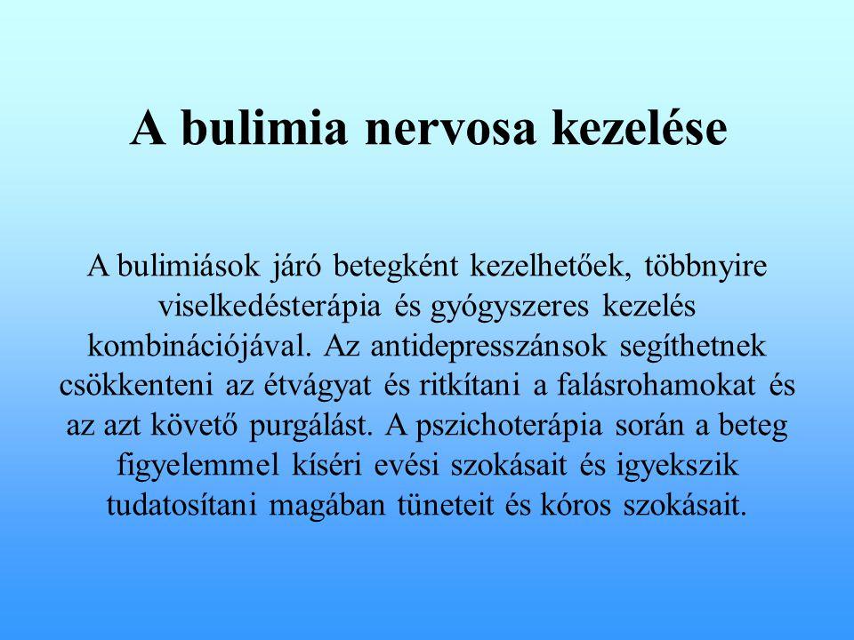 A bulimia nervosa kezelése