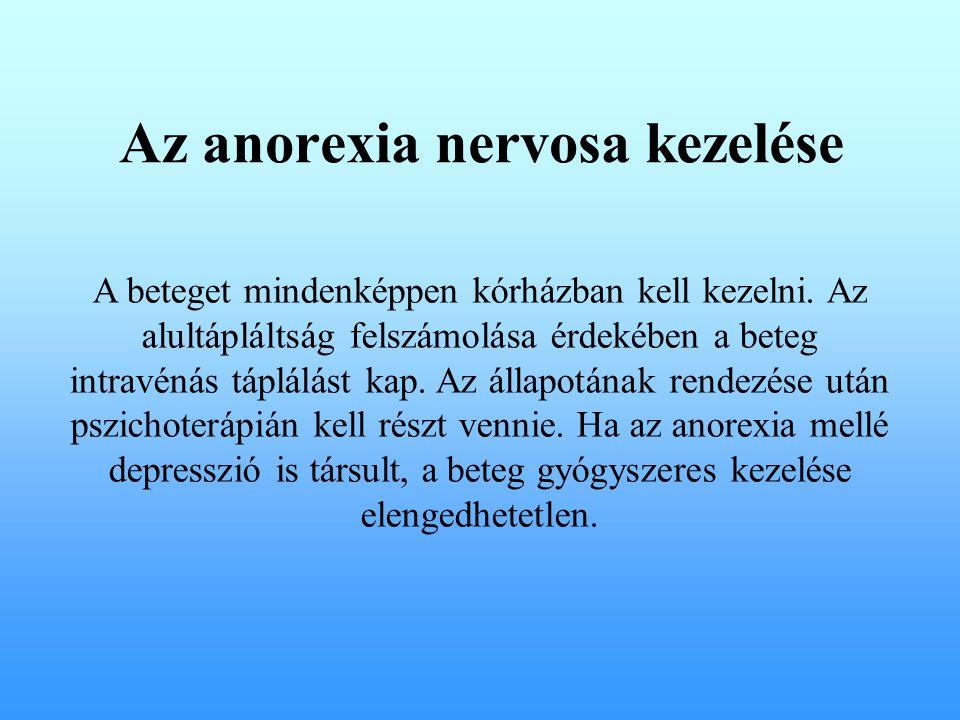 Az anorexia nervosa kezelése