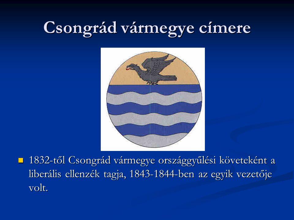 Csongrád vármegye címere