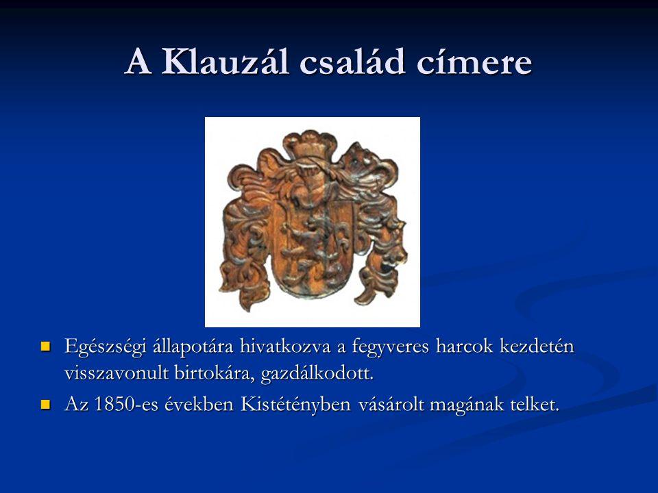 A Klauzál család címere