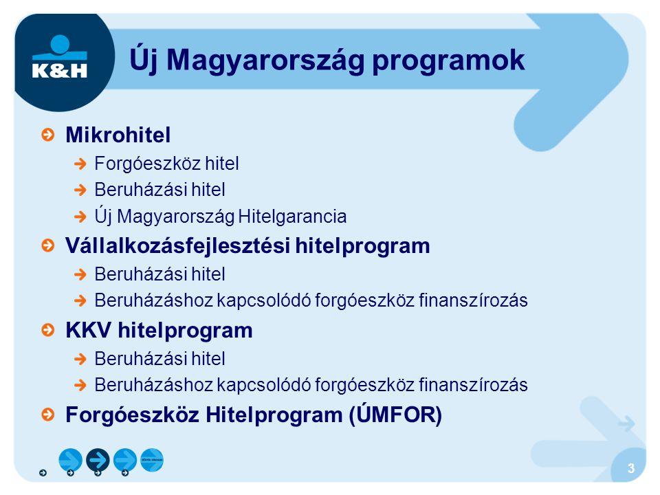 Új Magyarország programok
