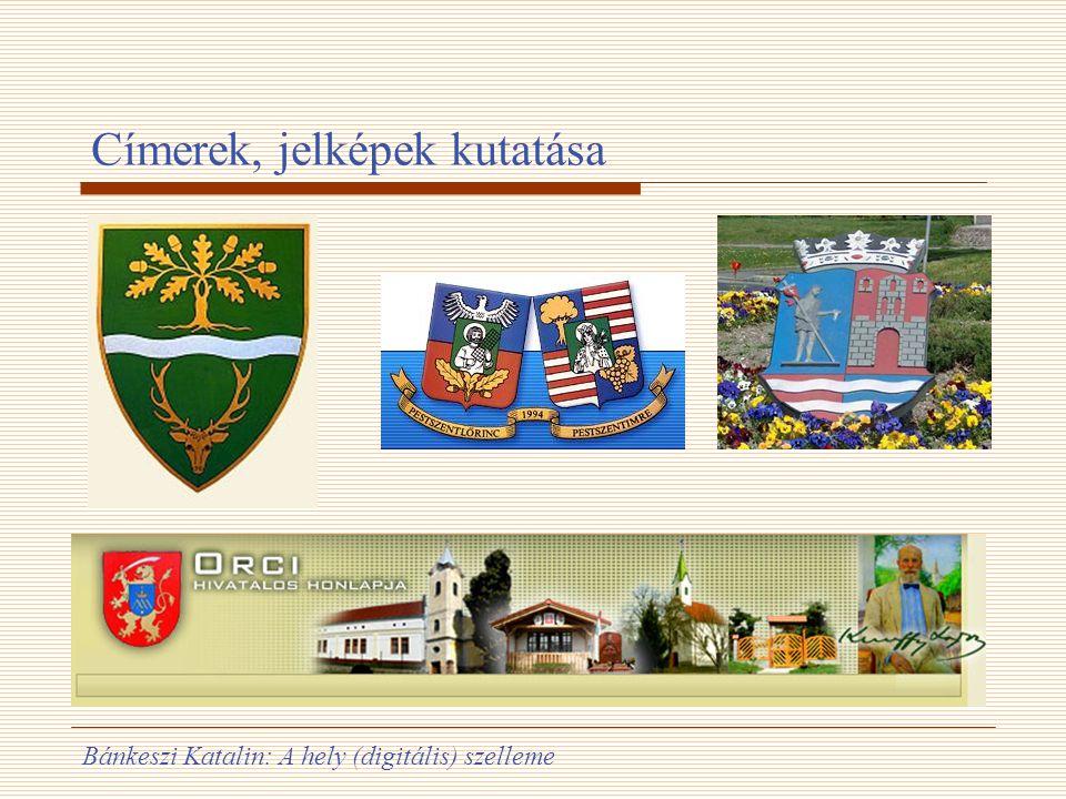 Címerek, jelképek kutatása