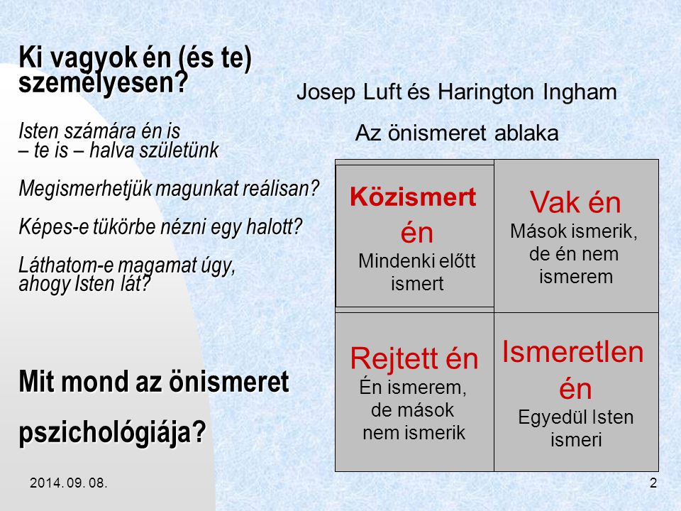 Josep Luft és Harington Ingham