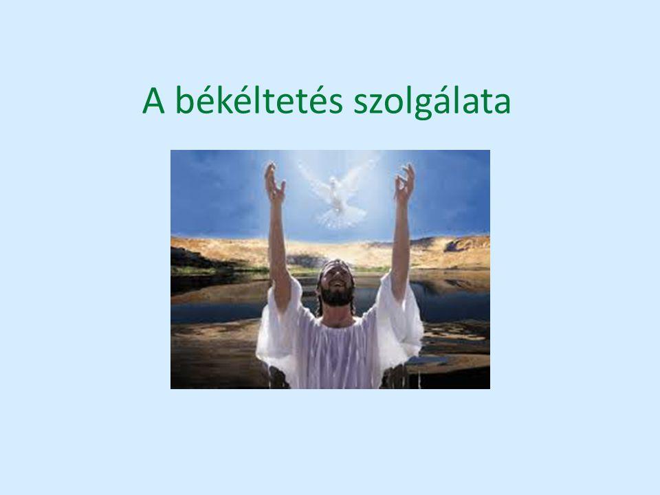 A békéltetés szolgálata