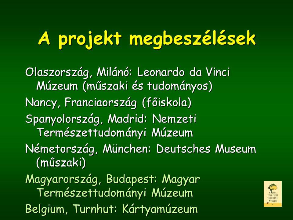 A projekt megbeszélések