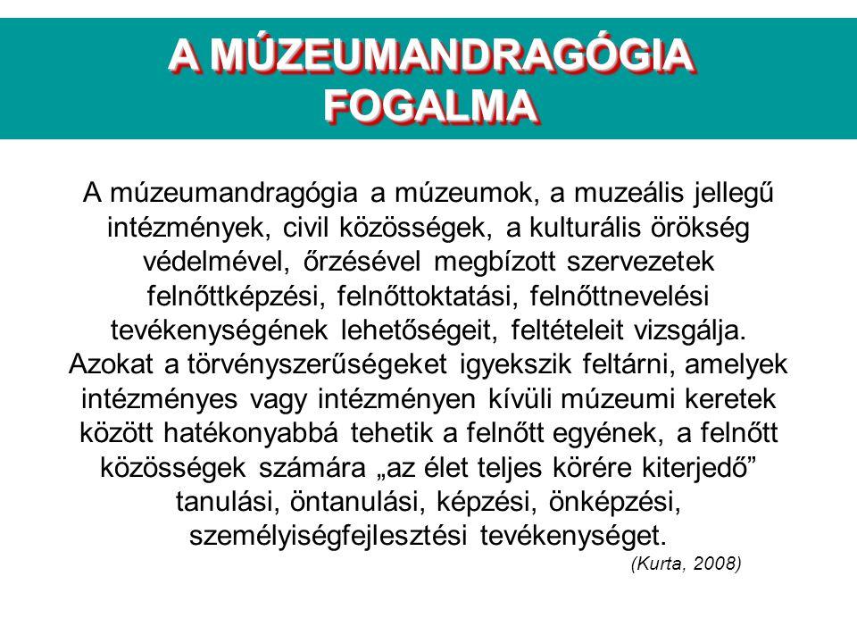A MÚZEUMANDRAGÓGIA FOGALMA