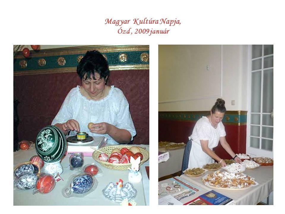 Magyar Kultúra Napja, Ózd , 2009 január