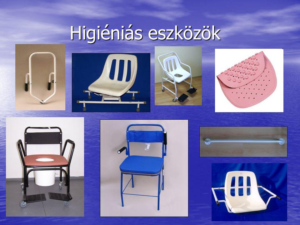 Higiéniás eszközök