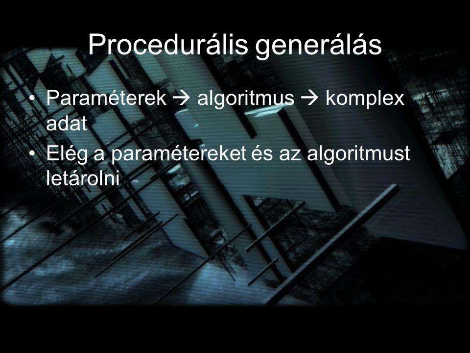Procedurális generálás