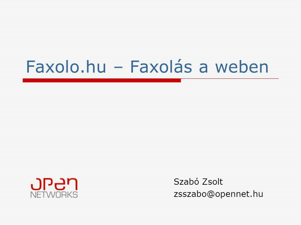 Faxolo.hu – Faxolás a weben