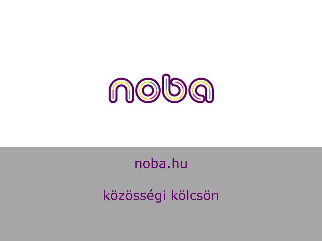 noba.hu közösségi kölcsön