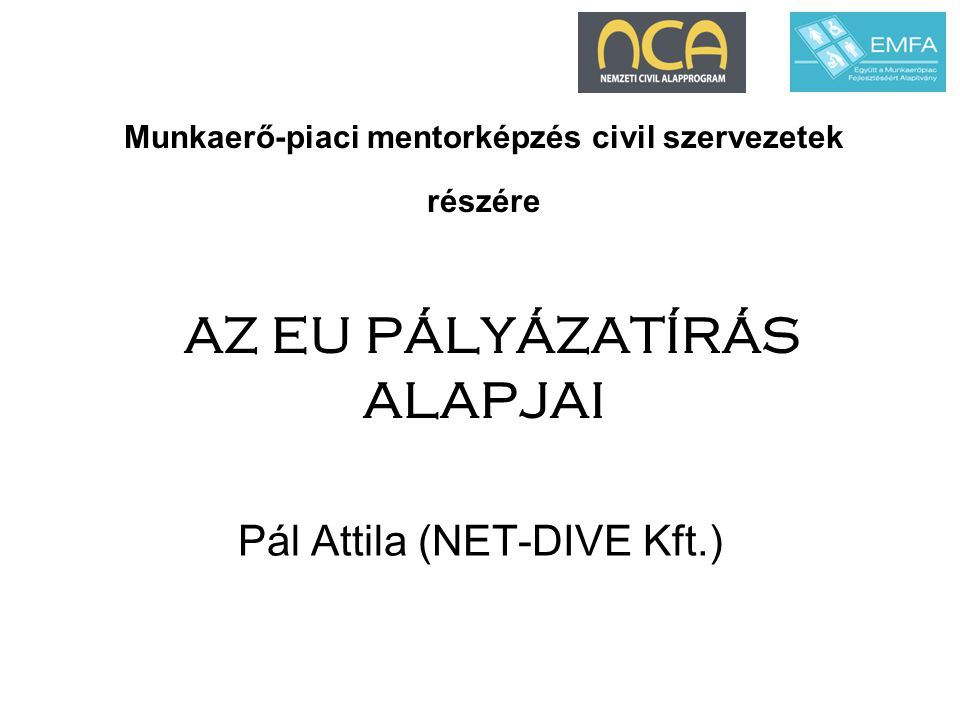 Pál Attila (NET-DIVE Kft.)