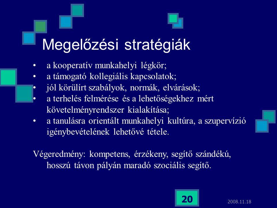 Megelőzési stratégiák